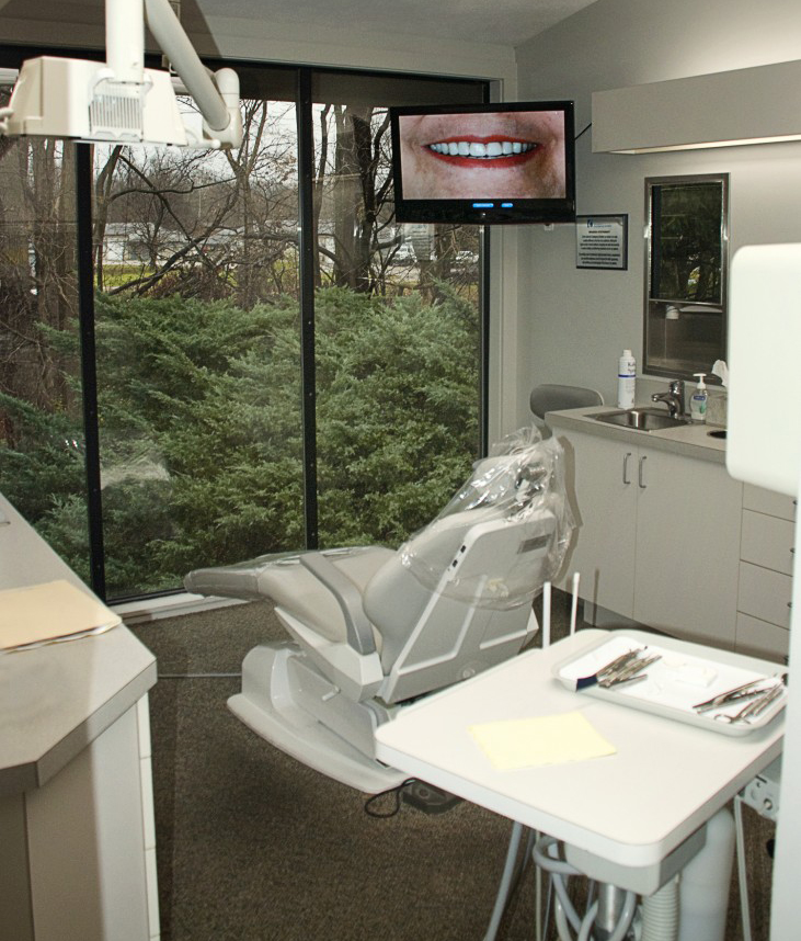 The office of The Centre for Contemporary Dentistry